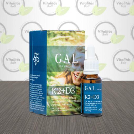 GAL K2+D3 vitamin - 20 ml