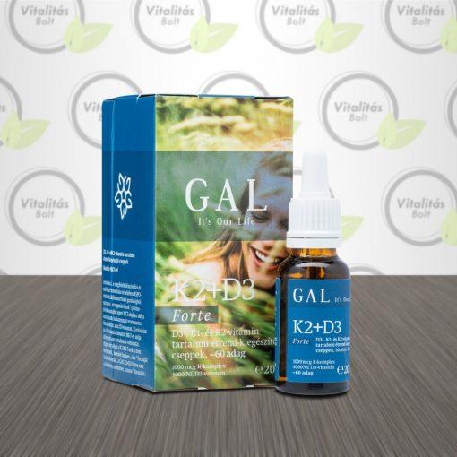GAL K2+D3 Forte vitamin - 20 ml