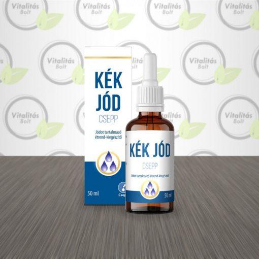 Viva Natura Kék Jód csepp - jódot tartalmazó étrend-kiegészítő - 50 ml