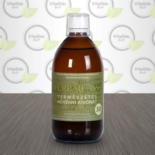"""HerbaClass Természetes növényi kivonat """"30"""" - 300 ml"""