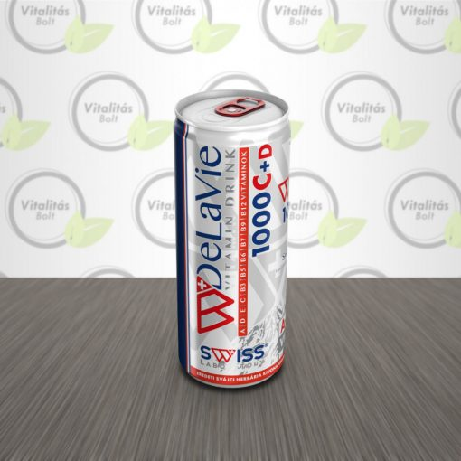 SWISS DeLaVie Nagydózisú multivitamin ital - 250 ml